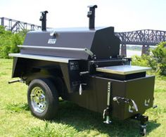 Build Your Tucker Cooker Bbq Smoker Trailer, Bbq Pit Smoker, Barbecue Pit, Bar B Que Pits, Offset Smoker, Cooker, Grilling, Outdoor Decor, Trailers