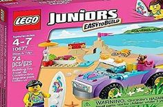 Buy LEGO Juniors Beach Trip 10677 online or in store at Mr Toys. Browse our LEGO - Juniors range at great prices. Afterpay, Zippay and Oxipay available Lego Friends Party, Lego Scooby Doo, Games To Play With Kids, Lego Juniors, Running On The Beach, Buy Lego, Lego Building, Lego Brick, Toy Store