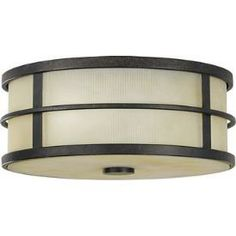 Murray Feiss Lighting FM256GBZ The Fusion Collection Flushmount