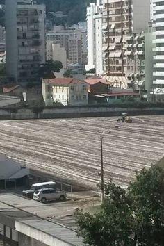 BotafogoDePrimeira: Obras no Caio Martins avançam e novo gramado deve ...
