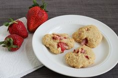 Use yogurt and strawberries to make this delicious cookie. 1 PP