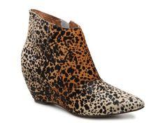 Women's Matisse Nugent Wedge Bootie - Leopard