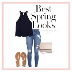 Spring Look by deveeka on Polyvore featuring polyvore fashion style MANGO Aéropostale Givenchy H&M clothing