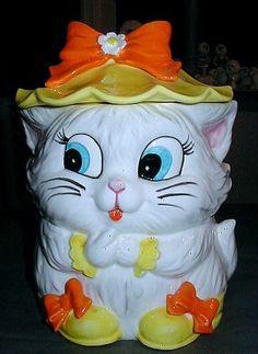 Lefton Vintage Anthropomorphic Figural Cuddles Little Sunshine Cookie Jar | eBay