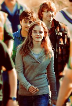 harry potter, Ron weasley and Hermione granger Harry James Potter, Harry Potter World, Fantasia Harry Potter, Images Harry Potter, Mundo Harry Potter, Theme Harry Potter, Harry Potter Characters, Harry Potter Universal, Hermione Granger
