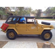VW thing, VW 181, VW safari