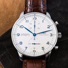 This IWC Portuguese was offered at a special price today exclusively to our email subscribers. Don't miss the next deal, click the link in our bio to get on the list.
