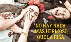 Eloptimismo deFrida Kahlo Fridah Kahlo Quotes, Frida Quotes, Frida Kahlo Tattoos, Spanish Woman, Spiritual Quotes, Wisdom Quotes, Love Quotes, Inspiring Quotes, Enjoy Your Life