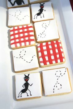 Picnic - Red & White Gingham Birthday Party Ideas | Photo 3 of 43 | Catch My Party