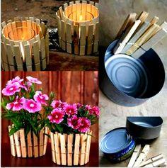 Easy & cheap outdoor decor!!