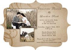 Romantic Invitation on Funlava.com  http://www.funlava.com/wedding-invitations/
