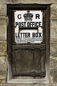 Old Post Office Door