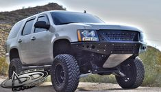 2007 - 2014 Chevy Tahoe/Suburban/Avalanche Stealth Front Bumper w/ Integrated Grille: ADD Offroad - The leaders in Aftermarket & Off Road Truck Bumpers Truck Mods, Gm Trucks, Chevy Trucks, Lifted Trucks, Lifted Chevy Tahoe, 2014 Chevy Tahoe, Aftermarket Truck Parts, Chevy Avalanche, Desert Design