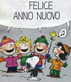 Felice Anno Nuovo Snoopy & C. in 2020 Snoopy Cartoon, Snoopy Comics, Snoopy Images, Snoopy Pictures, Lucy Van Pelt, Peanuts Christmas, Snoopy Quotes, Sweet Messages, New Year Wishes