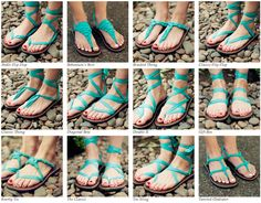 Sesko Designs sandals that can be tied in a million different ways! The mission of the company is to help break the cycle of poverty in Uganda. Sseko employs girls in Uganda for a nine month period in exchange for an entire college education! How great is that?