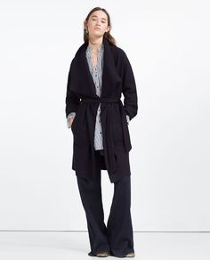 Canada Goose vest replica price - ZARA - WOMAN - QUILTED FEATHER COAT | Fall/Winter 2015-2016 ...