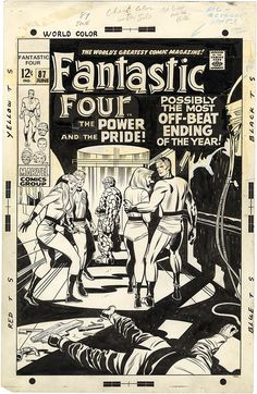 Fantastic Four, Issue 87, Cover