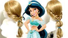 実写版「美女と野獣」ベルのハーフアップ 髪型の作り方 Jasmine Hair, Disney Princess Hairstyles, Aladdin And Jasmine, Hair Arrange, Girl Hairstyles, Wedding Styles, Snow White, Hair Beauty, Princess Zelda