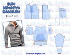 Mens Sewing Patterns, Sewing Paterns, Black Leather Bomber Jacket, Bomber Jacket Men, Sewing Clothes, Diy Clothes, Fashion Sewing, Mens Fashion, Mens Sweatpants