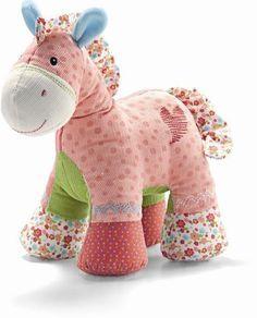 Cavalinho de tecidos coloridos