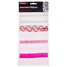 Ribbon (Assorted Colours) - Materials & Equipment - Arts & Crafts - Stationery & Crafts