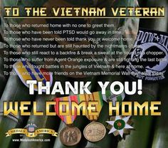 TO ALL VIETNAM VETS ...