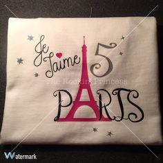 Je T'aime Paris Shirt by TheRockinPrincess on Etsy