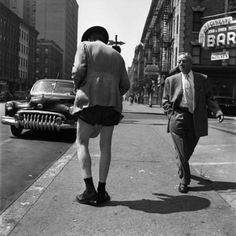 Street photography by Vivian Maier (1926-2009).