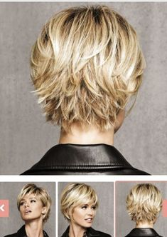 Short Shag Hairstyles, Bob Hairstyles For Fine Hair, Office Hairstyles, Anime Hairstyles, Stylish Hairstyles, Hairstyles Videos, Hairstyle Short, School Hairstyles, Hair Updo