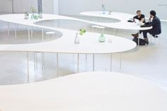 """Not just furniture, but a landscape - the """"Cloud Table"""" by STUDIO MAKS"""