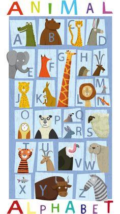 Katherine & Gareth Lucas, Animal Alphabet