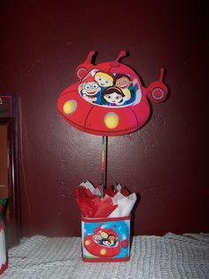 little Einsteins birthday party centerpiece 1pc. $15.00, via Etsy.