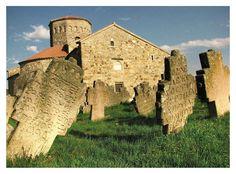Serbian-Orthodox Petrova church (Петрова црква) in Novi Pazar (9 century - UNESCO World Heritage)