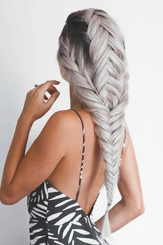Find images and videos about style, hair and beauty on We Heart It - the app to get lost in what you love. Pretty Hairstyles, Braided Hairstyles, Unique Hairstyles, Wedding Hairstyles, Everyday Hairstyles, Hair Inspo, Hair Inspiration, Unique Braids, Fall Hair Trends