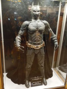 Christian Bale's Batman suit from The Dark Knight Rises...
