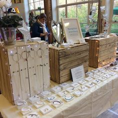 "54 Likes, 9 Comments - Samphire Jewellery (@samphirejewellery) on Instagram: ""All set up at Maynards School Christmas Fair in Exeter... feeling Christmassy #madeindevon…"""