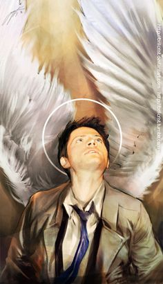 An Angel of The Lord by =brilcrist  #Supernatural  Fan Art