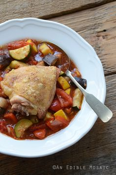 Roast Chicken Ratatouille {#Paleo}