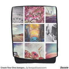 Create Your Own Instagram Adult Backpack