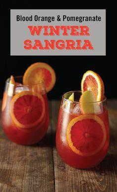 When we think of the perfect seasonal mixed drink, this combination of white wine, apple cider, pomegranate juice, cinnamon sticks, apple slices, and blood orange garnish comes to mind! Check out this Winter Sangria  recipe to make this vodka cocktail for your friends.