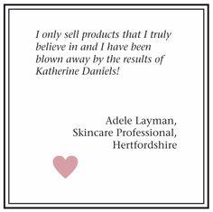 Believe us, this feedback is no April Fool's joke! #KatherineDaniels #BetterSkinForLife