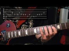 CANON ROCK Guitar Lesson WITH TABS