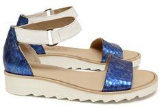 Chaussures Femme Sandales Printemps Ete 2015 Maurice Manufacture BONNIE Cristaux mer