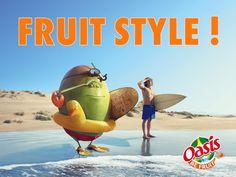 Phénix de LUDA : Oasis & Marcel en or #pub #advertising #com