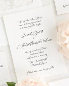 Free Wedding Invitation Samples | Shine Wedding Invitations