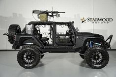 Full Metal Jacket with 50 caliber rifle. Starwood Motors is a luxury car dealership and custom shop based in Dallas, Texas. Photo: Courtesy Starwood Motors