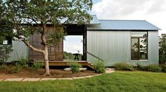 Durable Exteriors | Inspired by the simple, functional, and honest design of historic dogtrot houses found throughout the South, this Porch House concept combines modest, factory-built rooms with site-built outdoor spaces.