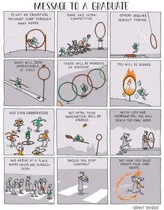 An Inspiring Message for Graduates, Incidental Comics