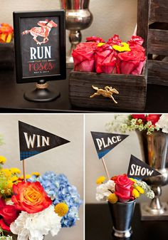 Run for the Roses Party Decorations