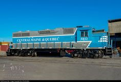 RailPictures.Net Photo: CMQ 3812 Central Maine and Quebec Railway EMD GP38-3 at Lachine, Quebec, Canada by Kevin Burkholder
